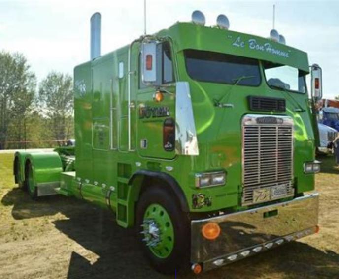1976 White Freightliner Truck Freightliner Trucks Freightliner Trucks