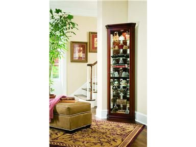 Shop For Pulaski Furniture Corner Curio, 21001, And Other Living Room  Cabinets At Norwood