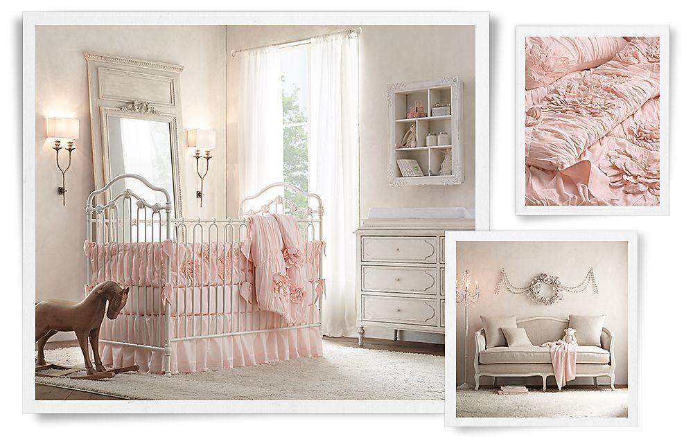 Bellina with Appliqué Fleur Bedding Nursery Rooms