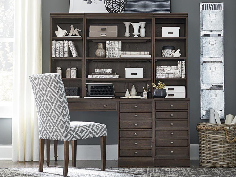 the commonwealth leg desk set by bassett furniture features pared rh pinterest com
