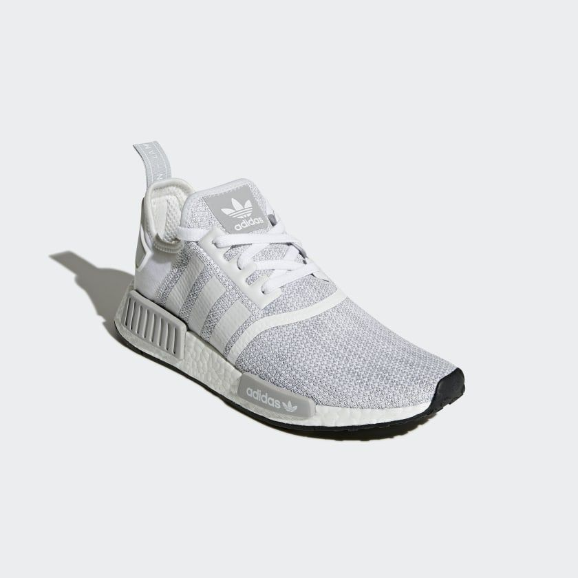 sensibilidad Alfombra monitor  adidas NMD_R1 Shoes - White | adidas US | Adidas shoes women, Adidas shoes  nmd, Adidas white shoes