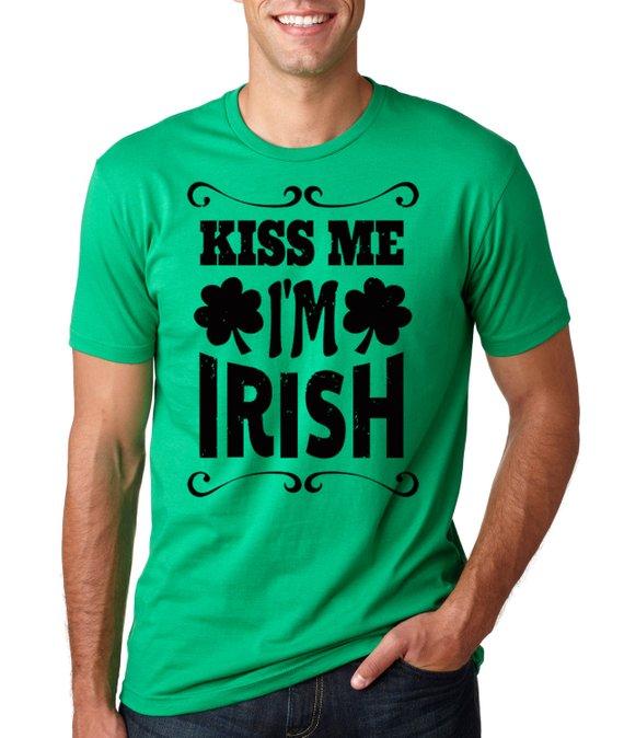 417f88c97 Saint Patrick's Day T-Shirt Irish Pub Green Tee Shirt Shamrock Clover St. Patrick's  Day Tee Shirt