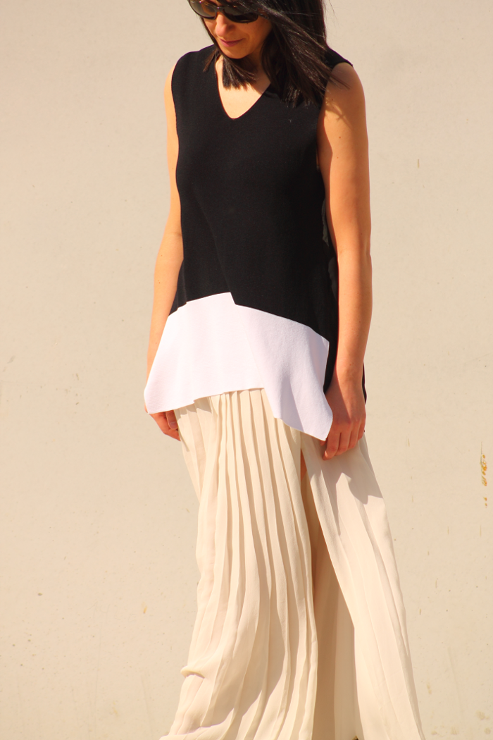 #long #style #massimodutti #skirt #fashion #fashionblogger #fashionblog #trends #cute #top