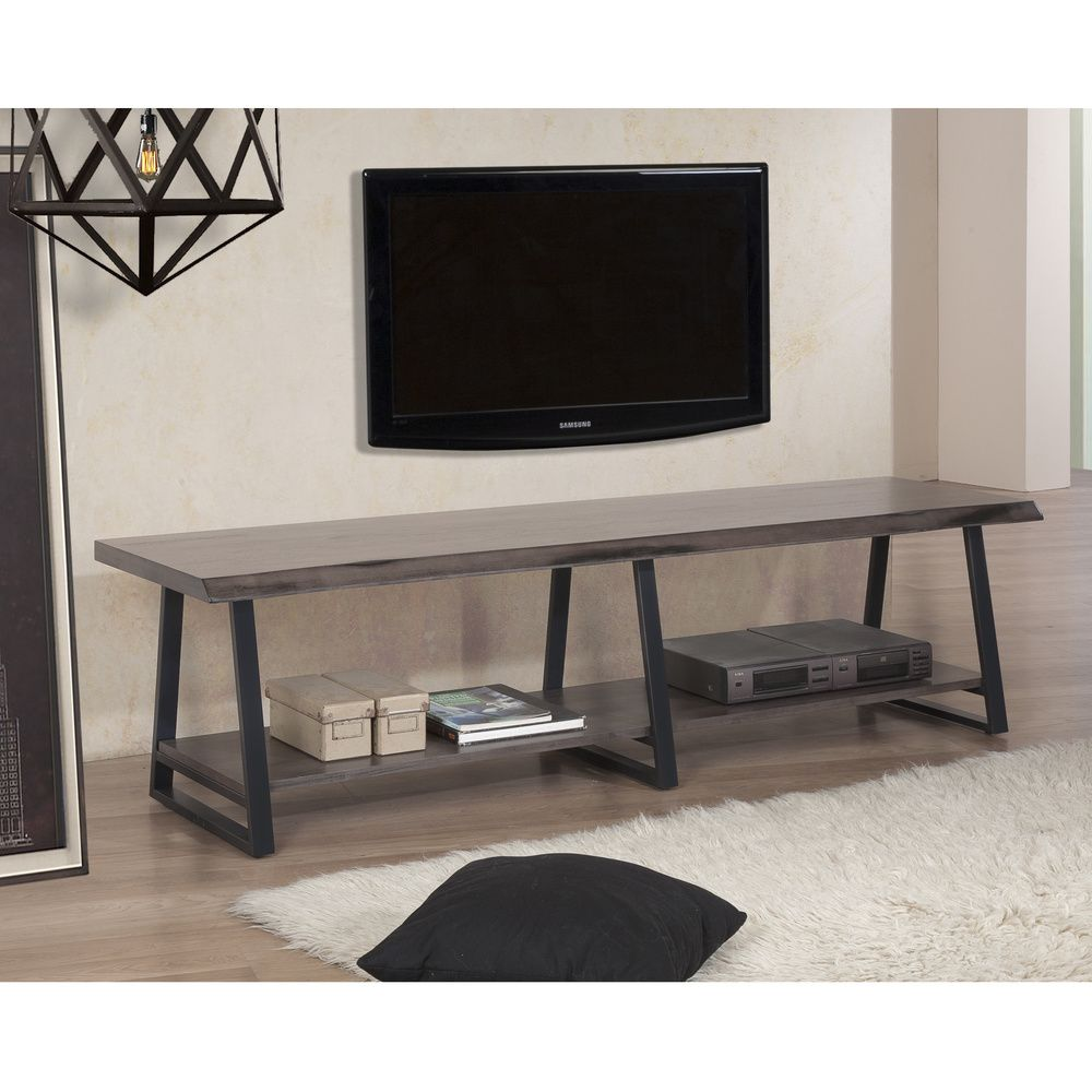 74-inch Live Edge Entertainment Center - Overstock™ Shopping - Great Deals on Entertainment Centers