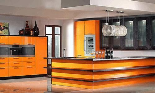 Kitchen Design Orange Fascinating Diseño De #cocinas Cocinas Naranjas #madrid  Yoli Casa  Pinterest Decorating Design