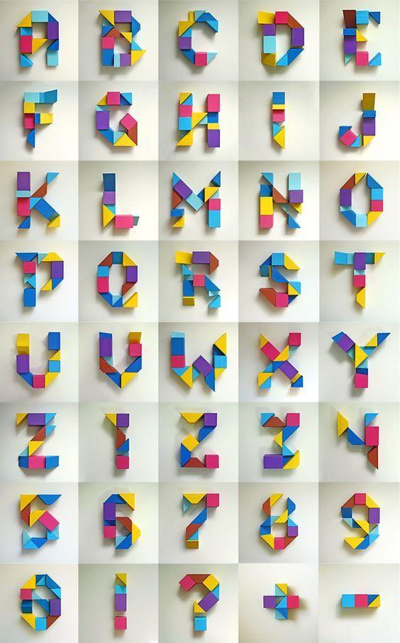 Typography - Alphabet
