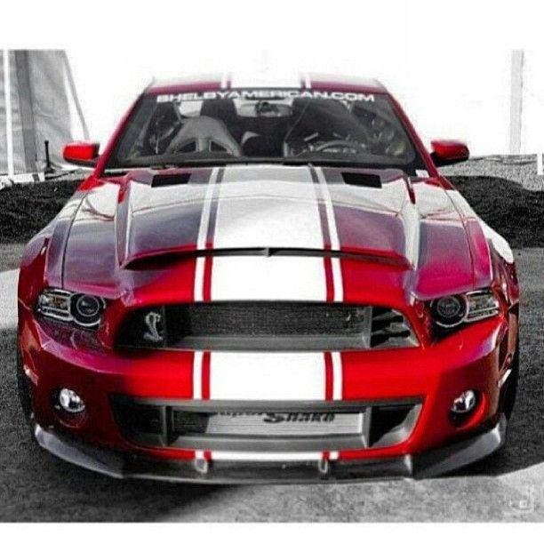 Red Shelby Cobra..