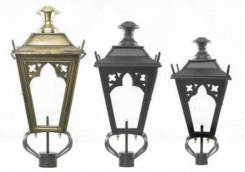 Gothic Lamp Post Tops Black Country Metalworks Ltd Lamp Post Metal Working Lamp
