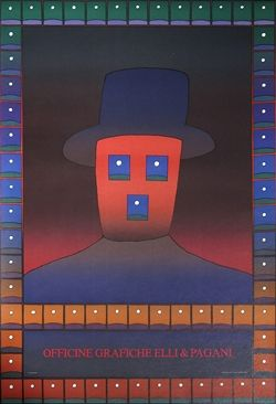 Jean Michel Folon - Folon, Officine Grafiche Elli & Pagani, 1978