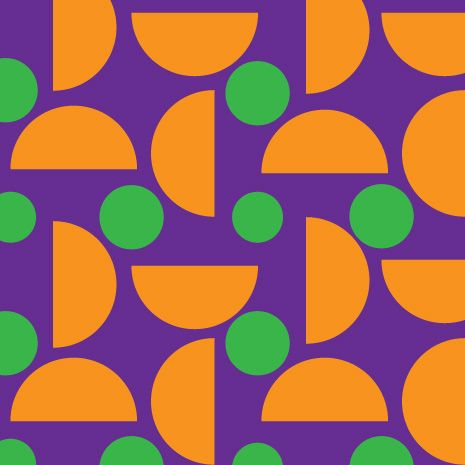 Example For Secondary ColorsOrange Green And Purple By Sora
