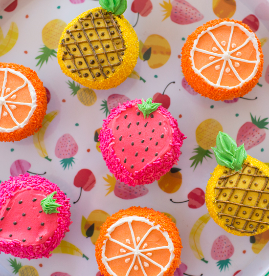 73027803e5c7 we especially love cupcakes when they are as cute and fruity as these. whip  up a batch with your friends for a fun summer afternoon