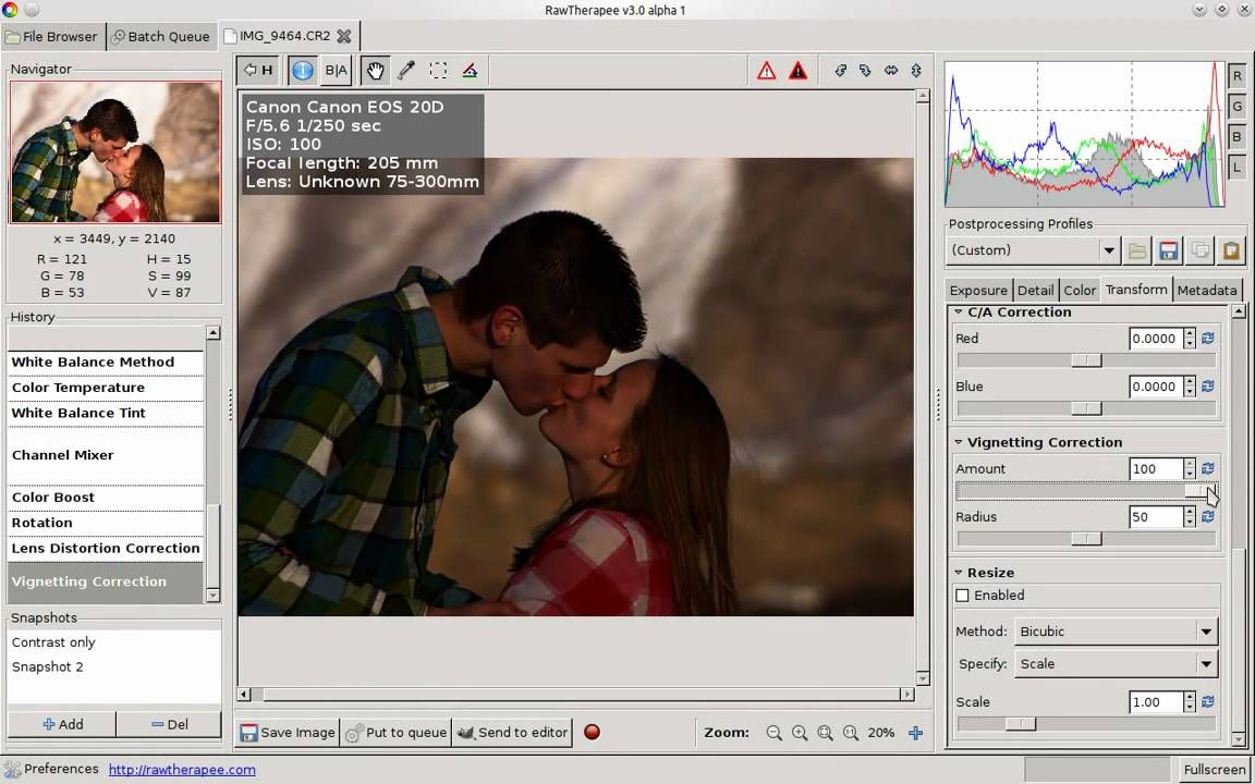 RAW Photo Editing Tutorial - RawTherapee In Linux - a really
