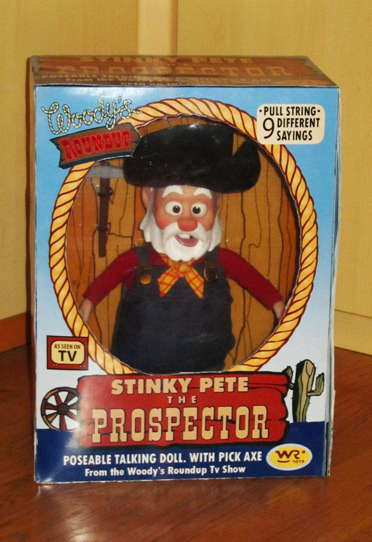 Toy Story Prospector Pete Wish List In 2019 Toys Old