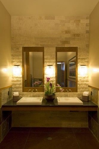 Aina Nalu Tropical Bathroom Bathroom Design Inspiration Rustic Bathroom Designs Restroom Design
