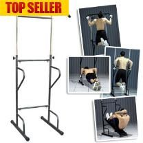 Full Body Pullup Abs Dips Workout Gym - Full Body Workout - Chin Up Bar - Ab Bench - Dipping Bar