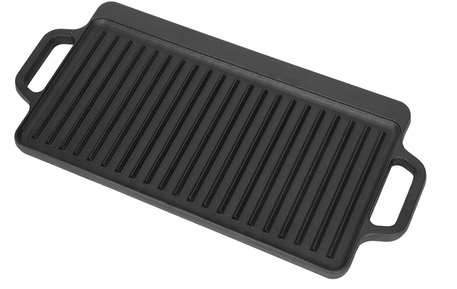 Cast Iron Reversible Grill Griddle 17 X 9 Pan Hamburger Steak Stove Top Fry Grill Pans Ideas Of Grill Pans Grillpans With Images Cast Iron Griddle Griddles Grill Pan