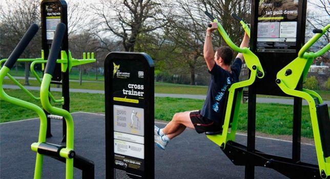 best website 1fbee 09c54 Pinterest gym Buscar aire al Google Exterior libre Gym con wtS8tgrq