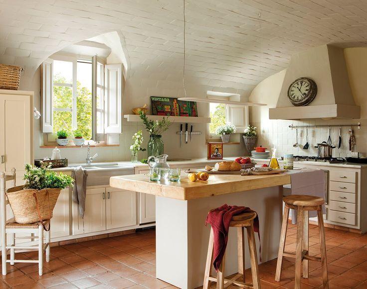 Resultado de imagen de decoracion de cocinas rusticas de campo