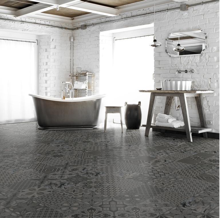 Decorative Tiles Melbourne Prepossessing Perini Tiles 'salima Art Grafito' Patterned Floor Tiles Decorating Design