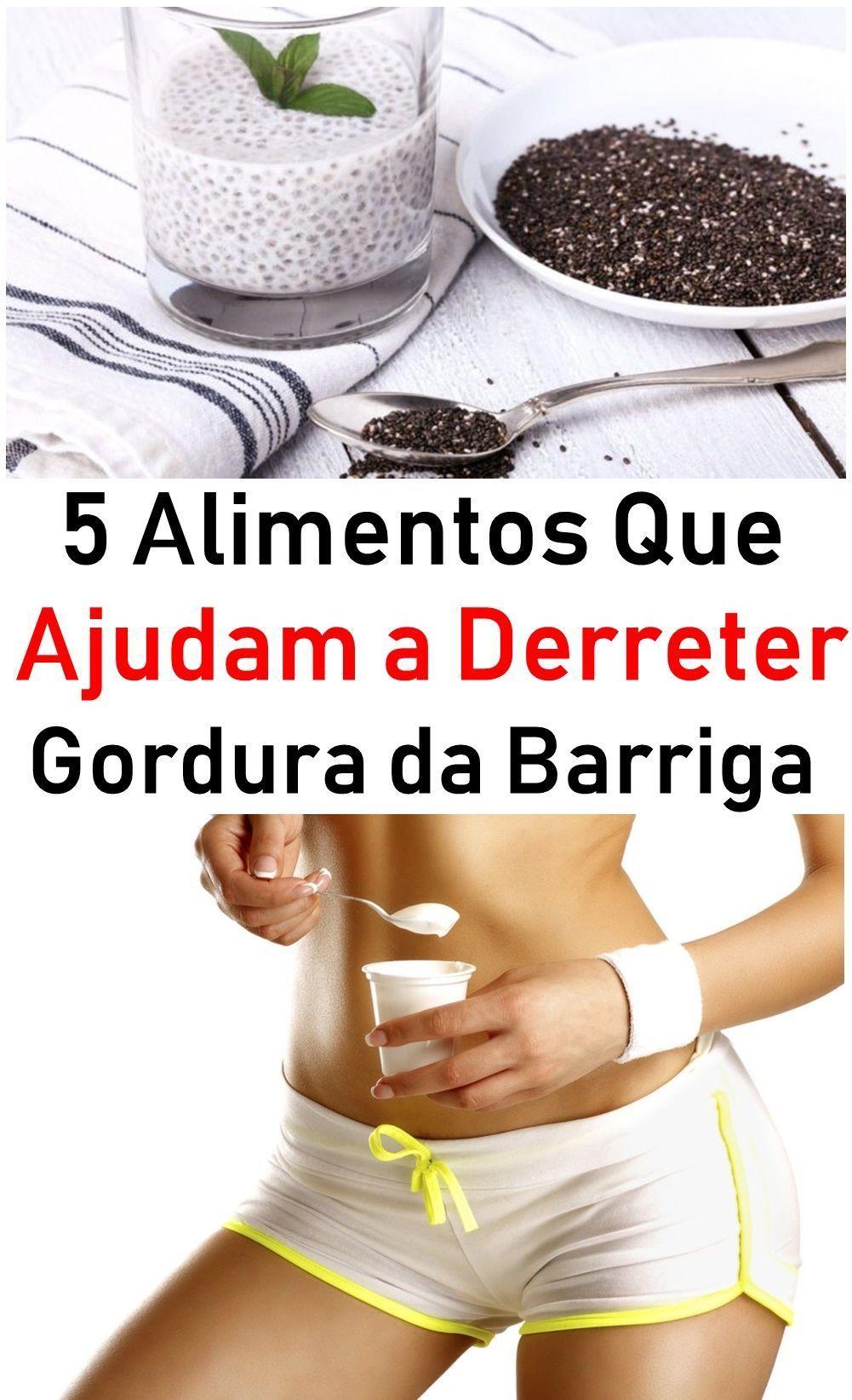 5 Alimentos Saudaveis Que Ajudam A Queimar Gordura Gordura