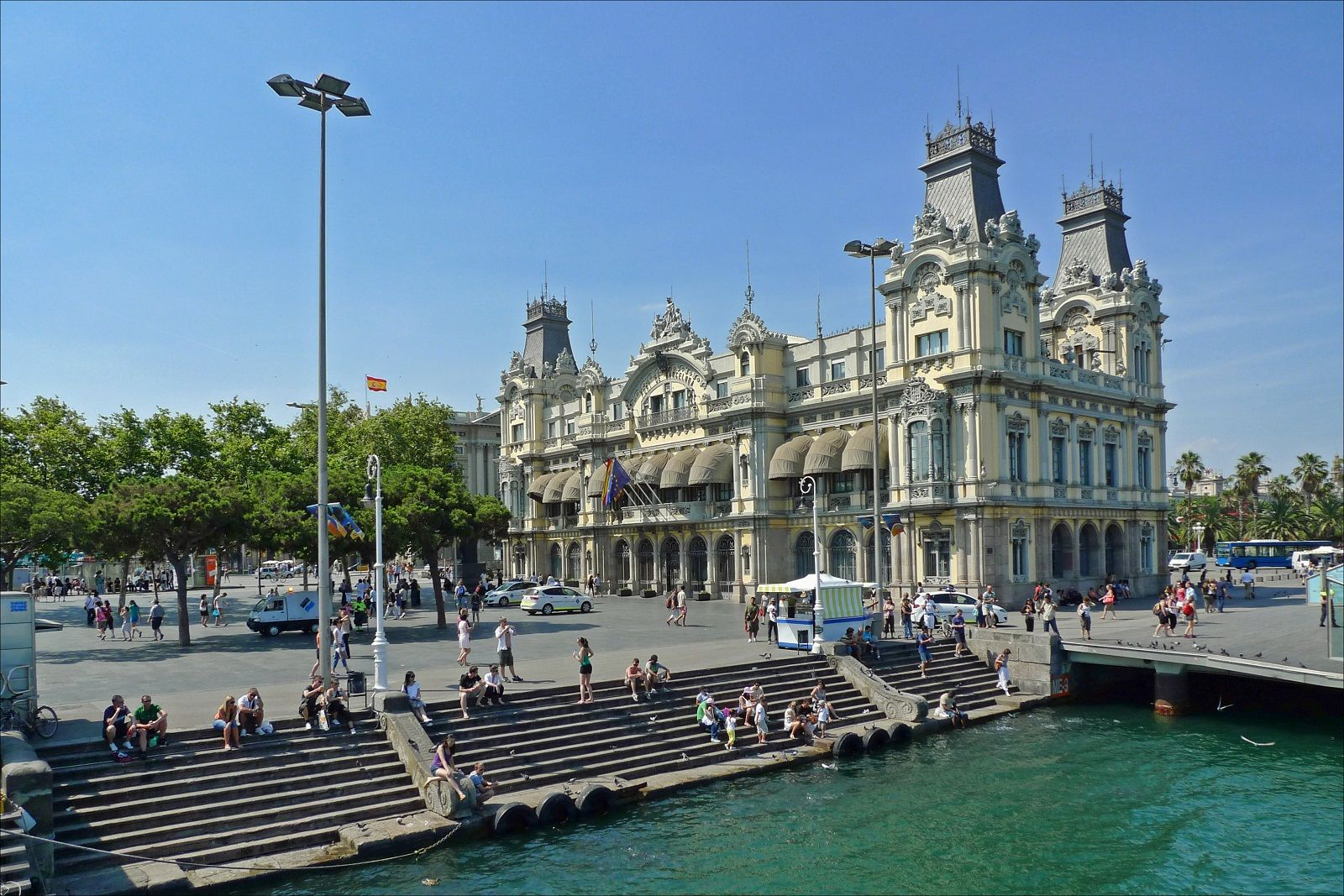Barcelona Architecture Spain Harbor