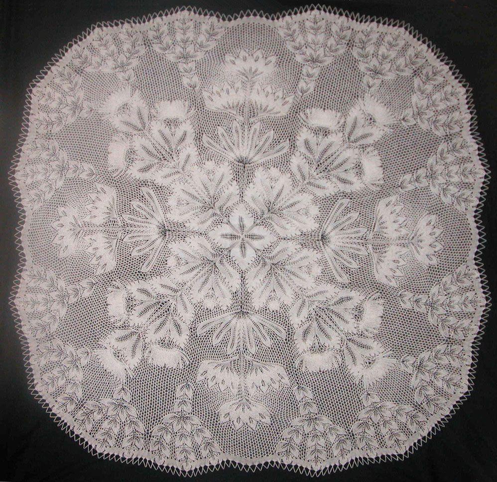 Roswitha | Art Knitting | Lace knitting patterns, Lace ...