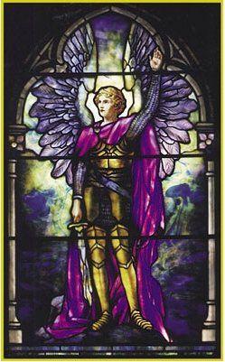 Archangel #vitraux