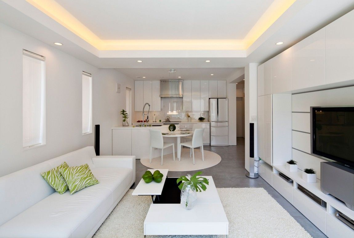 zen type living room ideas | living room and kitchen design