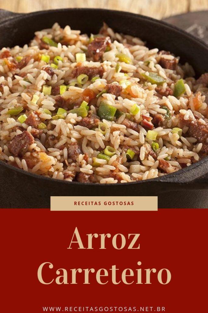 Receita De Arroz Carreteiro Simples Facil E Delicioso Receita