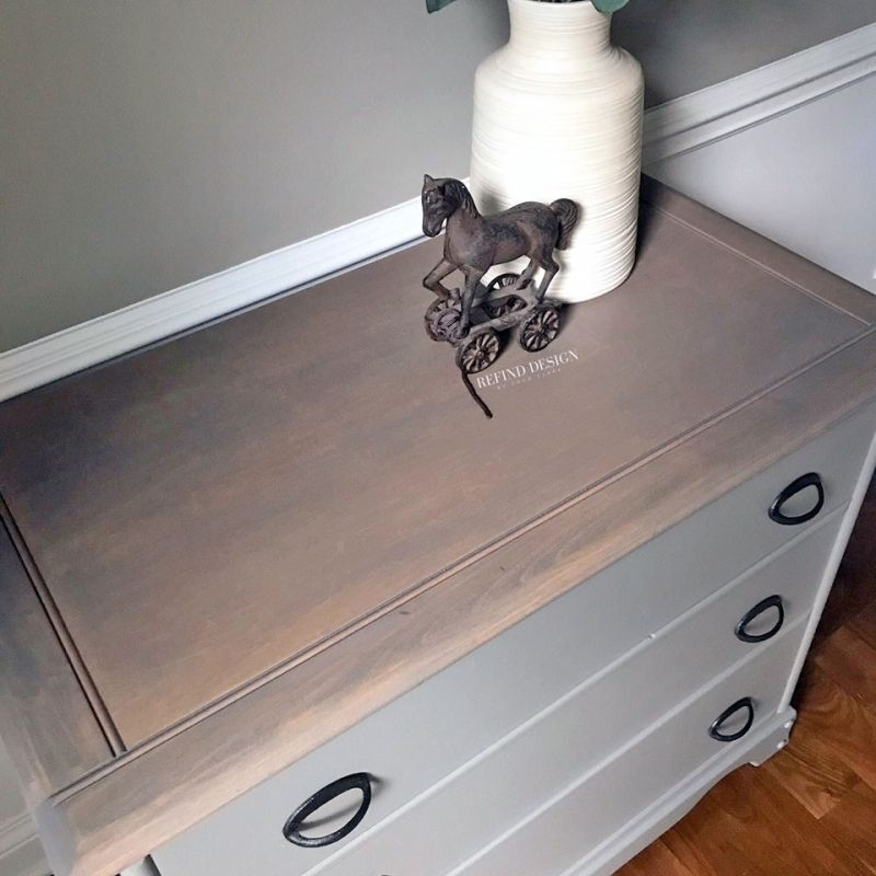 Best Ash Gray Gel Stain And Perfect Gray Farmhouse Dresser 640 x 480