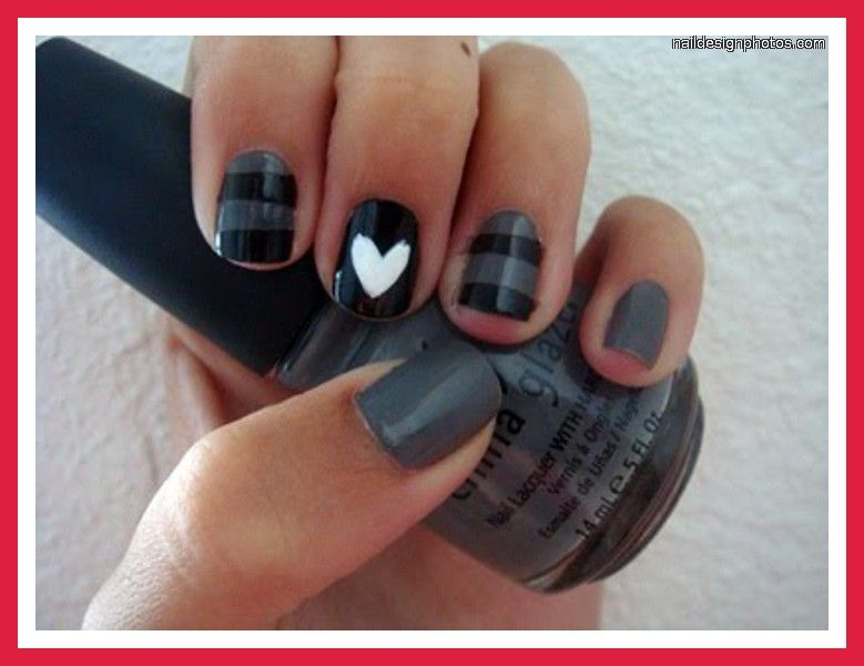 Easy do yourself nail designs simple nail art to do at - Nail designs do it yourself at home ...