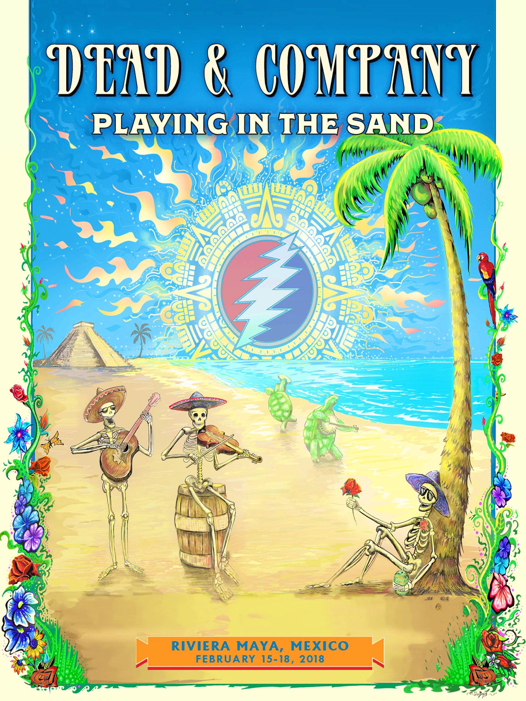Grateful Dead Tour 2018 Mexico   Myvacationplan org
