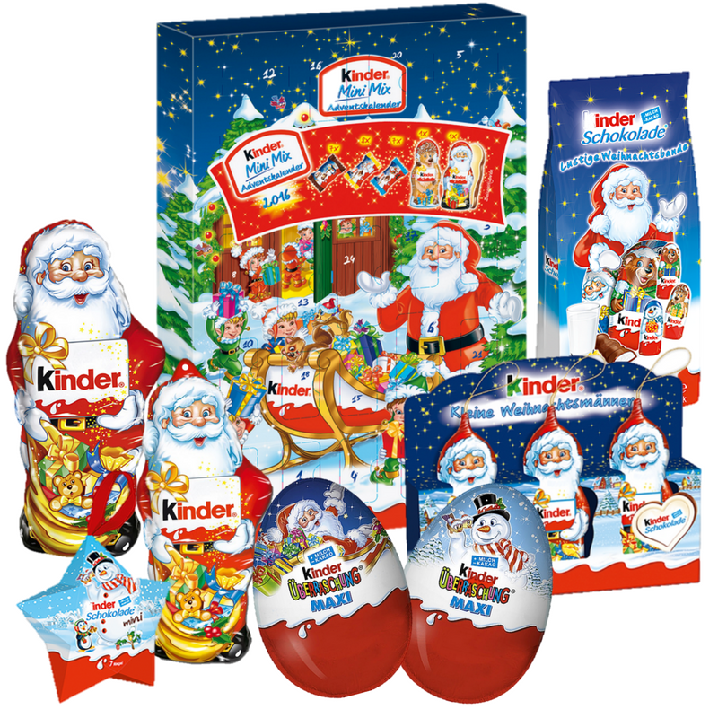 Kinder Advent Calendar Mini Mix Set Christmas