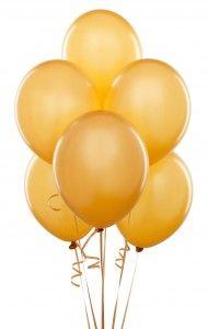Golden Balloons For A Golden Birthday Boy Gold Balloons