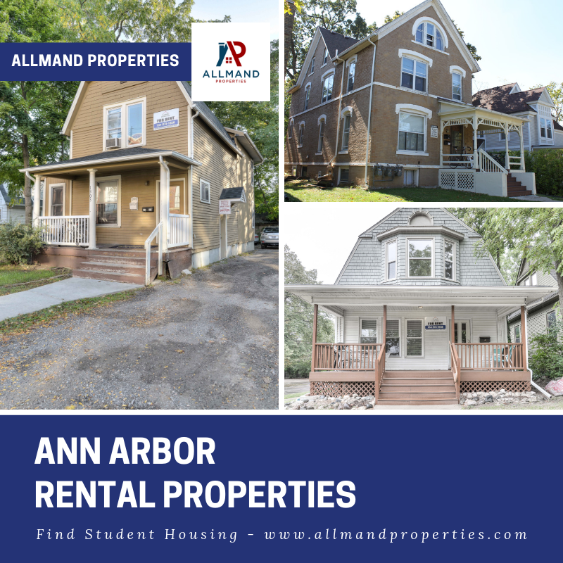 Ann Arbor Apartment Properties: Allmand Properties Is The Only Reliable Source You Need To