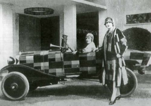 Sonia Delaunay-Terk, Designs for Clothes and Citroen, 1925