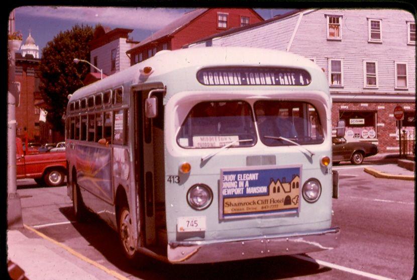 Ripta Old Look Gmc Trolleys Etc Rhode Island