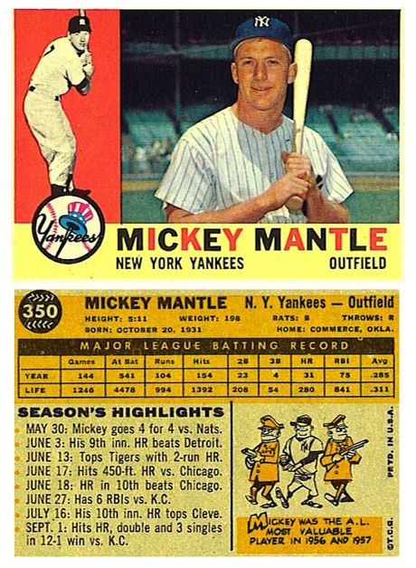 I Was Sort Of Named After Mickey Mantle Im A Girl So They