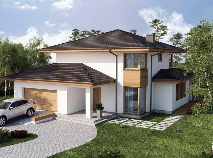 Modelos de casas de lujo con vidrios arquitectura for Fachada de casas modernas con vidrio