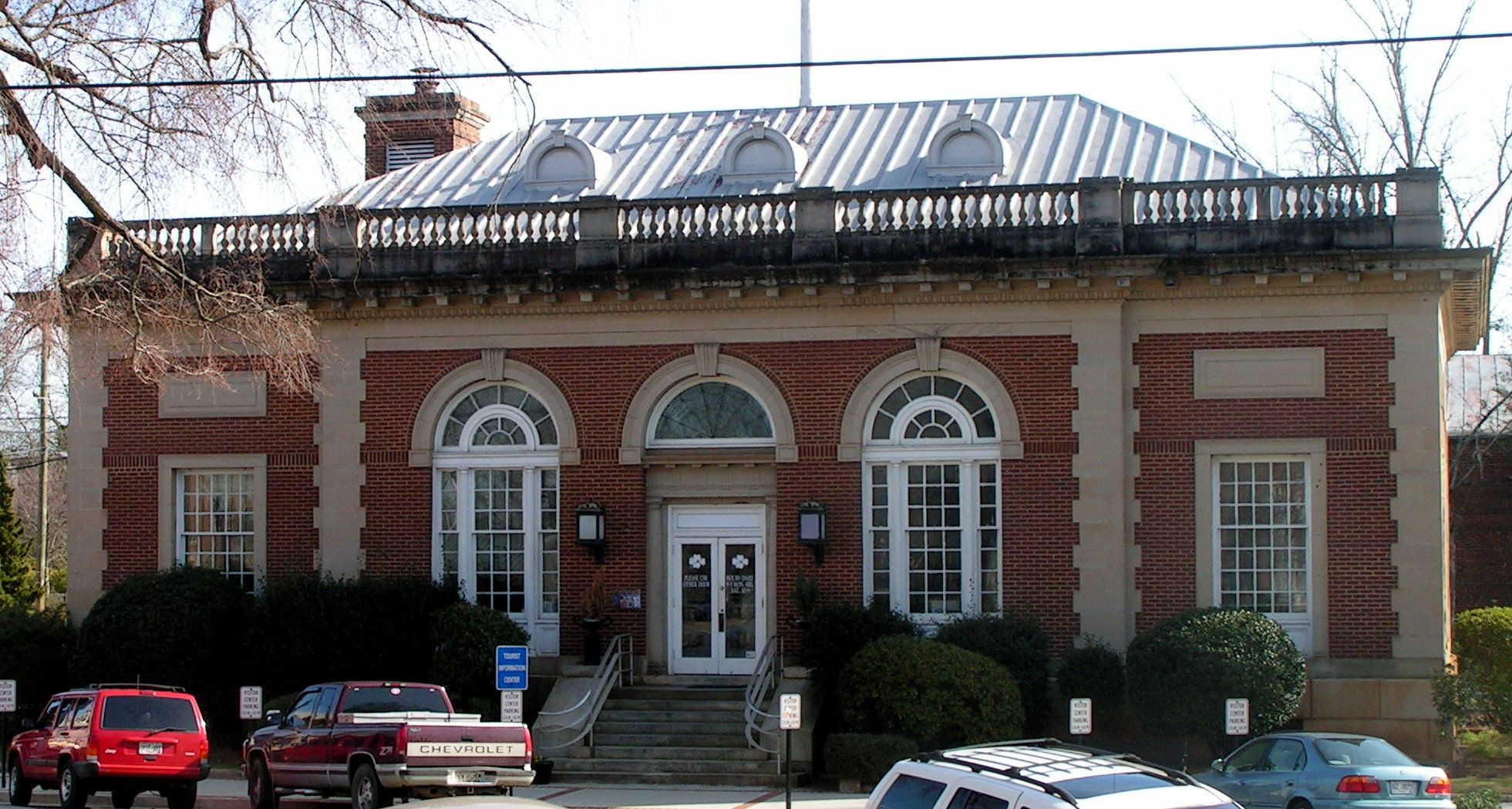 Milledgeville Ga Old Post Office C2007 Old Post Office