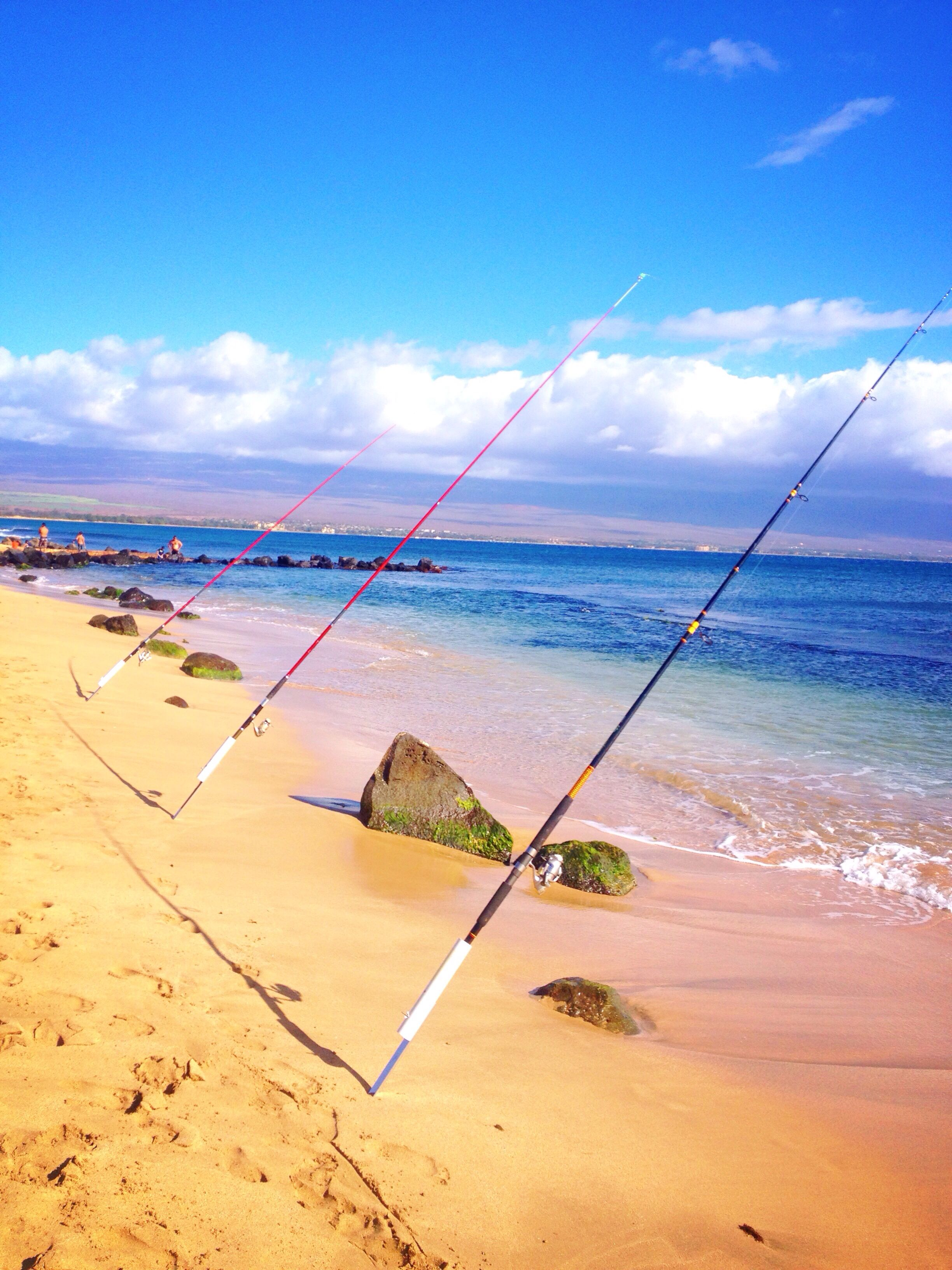 Gone Fishing Maui Sugar Beach