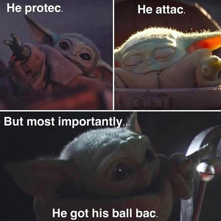 Anybody Here Tired Of Mandalorian And Baby Yoda Memes And Want Me To Post More Prequel Original Trilogy And Sequel Yoda Meme Yoda Funny Star Wars Memes