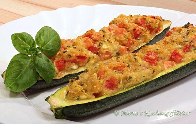 Leichte Sommerküche Essen Und Trinken : Gefüllte zucchini rezepte gefüllte zucchini zucchini und