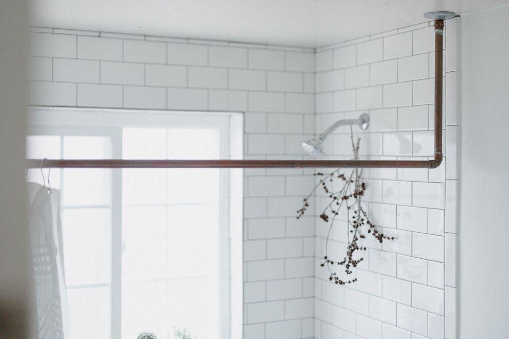 Diy Pipe Shower Curtain Rod.Pin On Make