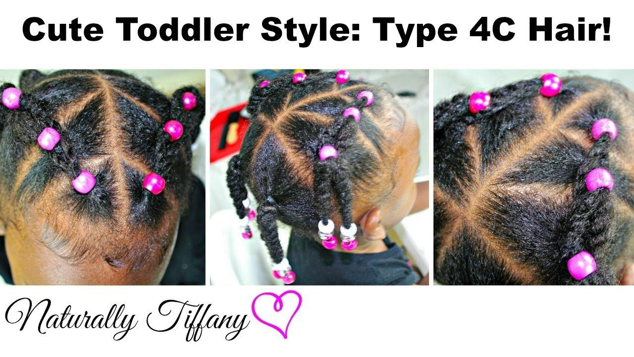 Cute Toddler Style For Type 4c Hair Kid S Natural Hair Care