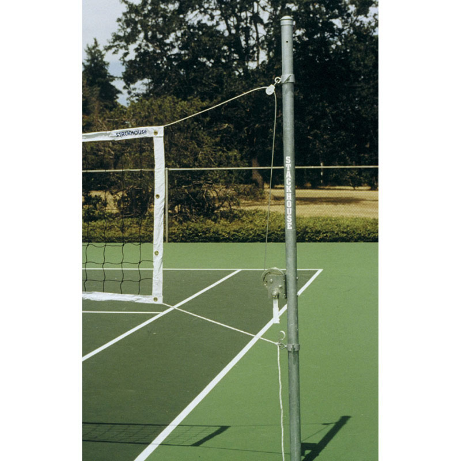 Stackhouse Outdoor Volleyball System Steel Products In 2019 Volleyball Sports Galvanized Steel