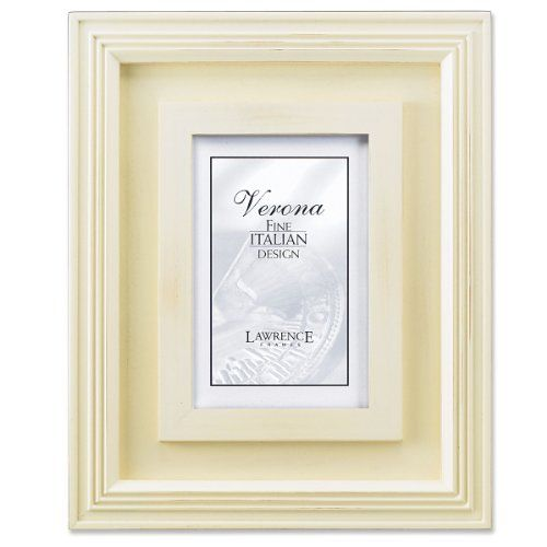 Lawrence Frames Dimensional Distressed Cream Wood 4x6 * Click image ...