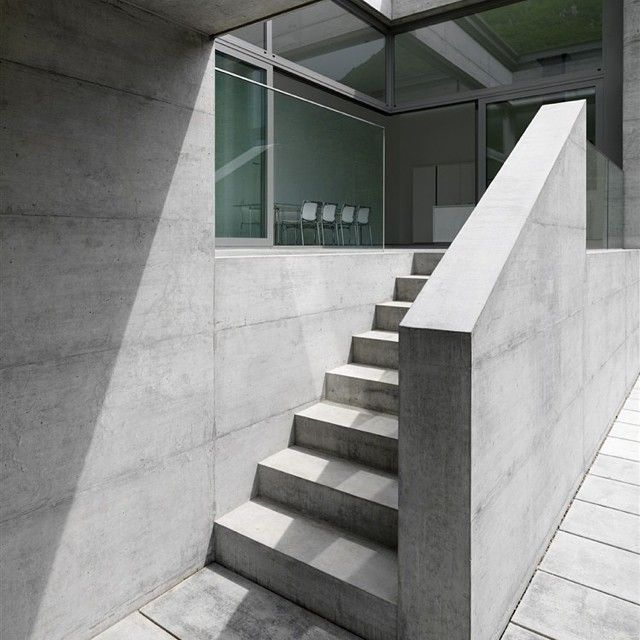 Architect House, Concrete Stairs