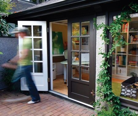Turn Your Garage Into A Library Office Smart Garage Office