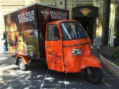 Rock street food :) Idea italiana nata nel 2014 a Roma come sperimentazione. Nel 2015 progetto europeo, in Italia a Roma, Firenze e Venezia (ovviamente street-water-food!)
